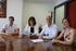 Artolazabal, Goitia y Amilibia suscriben la adhesión de Lekeitio a la red Euskadi Lagunkoia de municipios amigables con las personas mayores