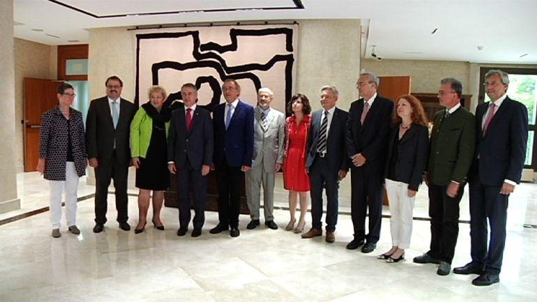 El Lehendakari se reúne con una representanción del Parlamento de Baviera