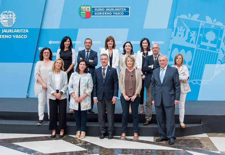 El Lehendakari ha presidido la Comisión Interdepartamental para la Igualdad