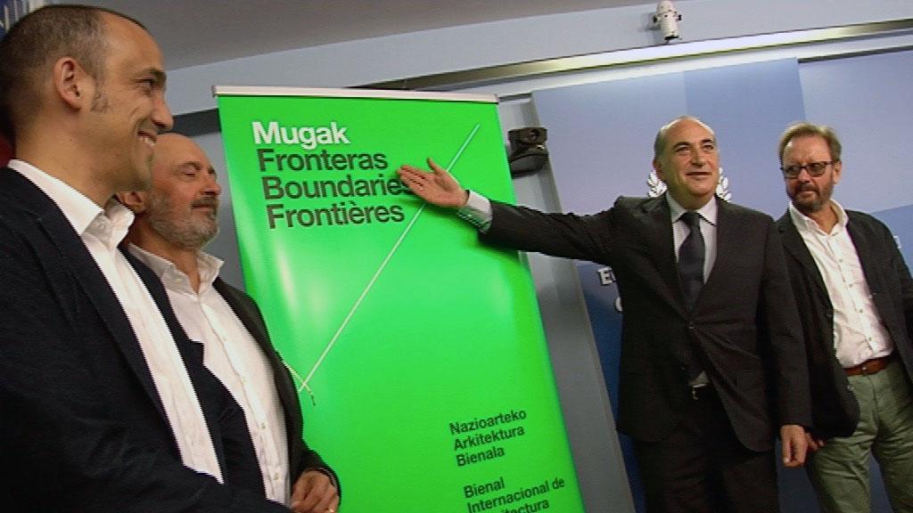 Euskadiko I. Nazioarteko Arkitektura Bienala, 'MUGAK', udazkenean ospatuko da Donostian eta Pritzker 2017 saridunak ekarriko ditu