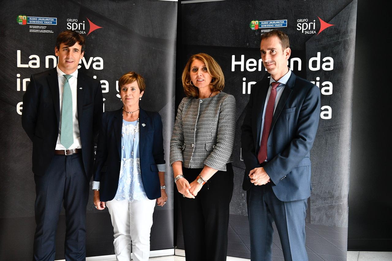 El Gobierno Vasco y el Ministerio de Economía colaboran para impulsar la transformación digital de las empresas industriales