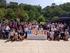 """Jon Darpón y la viceconsejera Lide Amilibia participan en el """"chapuzón solidario"""" de la campaña contra la esclerosis múltiple  que afecta a 2.500 personas en Euskadi"""