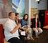 La viceconsejera Miren Dobaran visita las colonias de verano 'Mingaina dantzan', que servirán para el desarrollo de una investigación sociolingüística