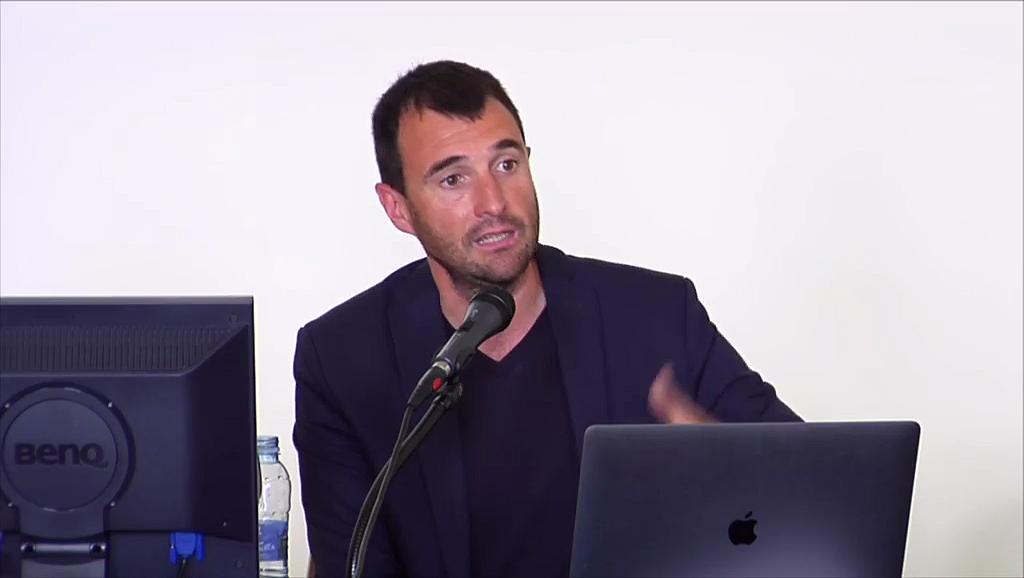 """Gorka Espiau Idoyaga. Ponencia: """"Euskadi. Plataforma Multi-agente de colaboración/participación en la ciudad de Montreal, Canadá"""""""
