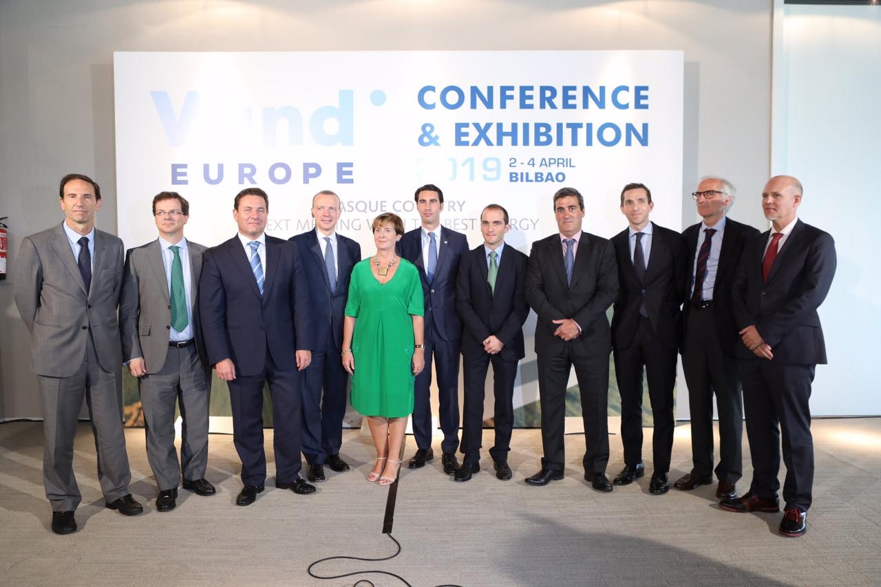 Euskadi acogerá en 2019 la principal cita europea de la industria eólica