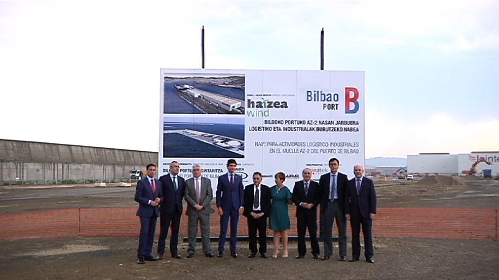 Haizea Wind fabirkazio aurreratua eta energia eolikoa Bilboko Portuan