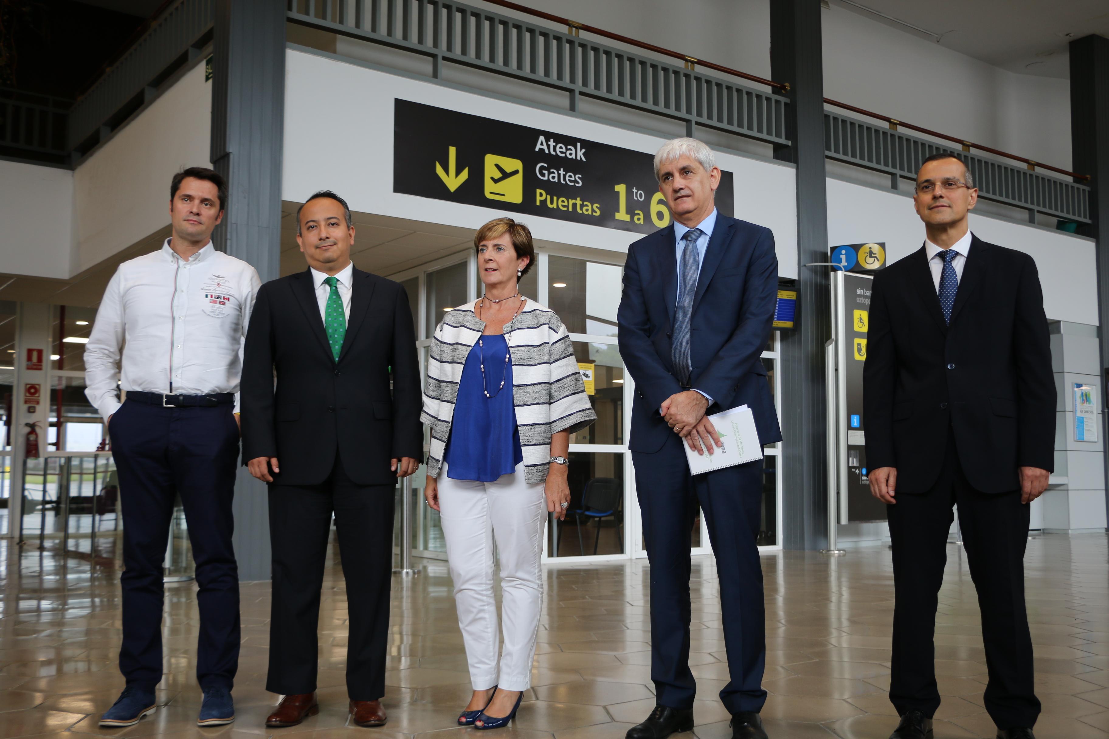 Se garantiza la seguridad en el Aeropuerto de Hondarribia y Vueling seguirá operando