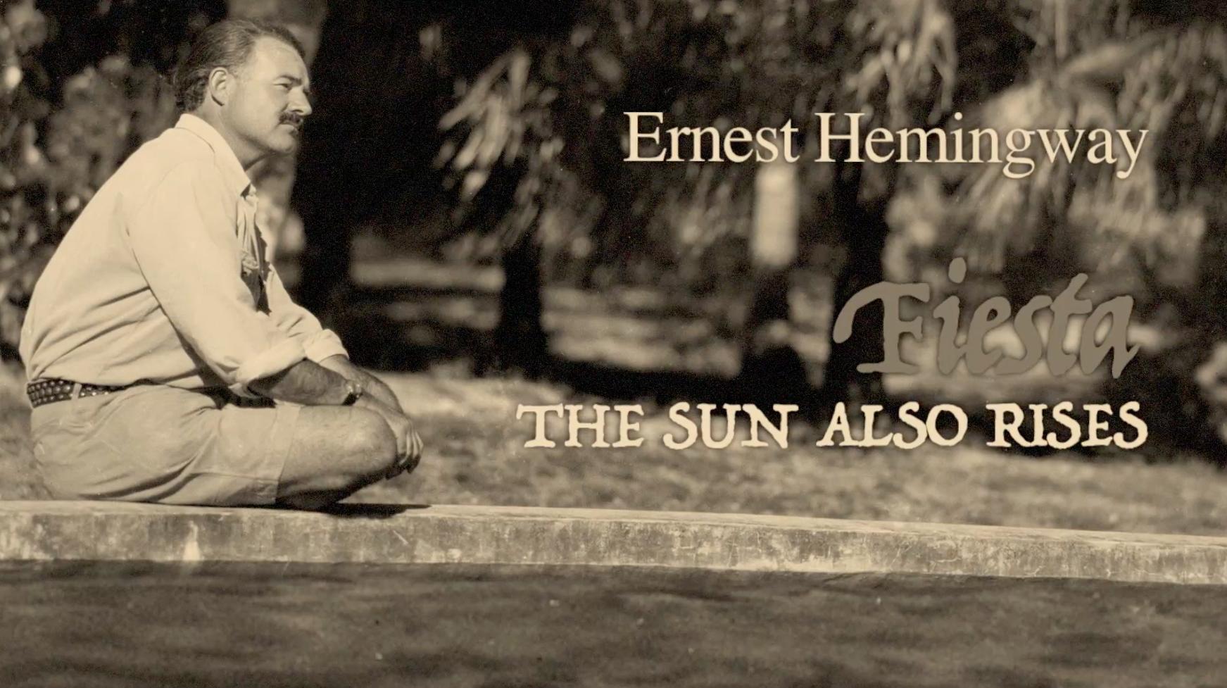 Hemingway-en  bidaia-egunkaria aurkezteko prentsaurrekoa