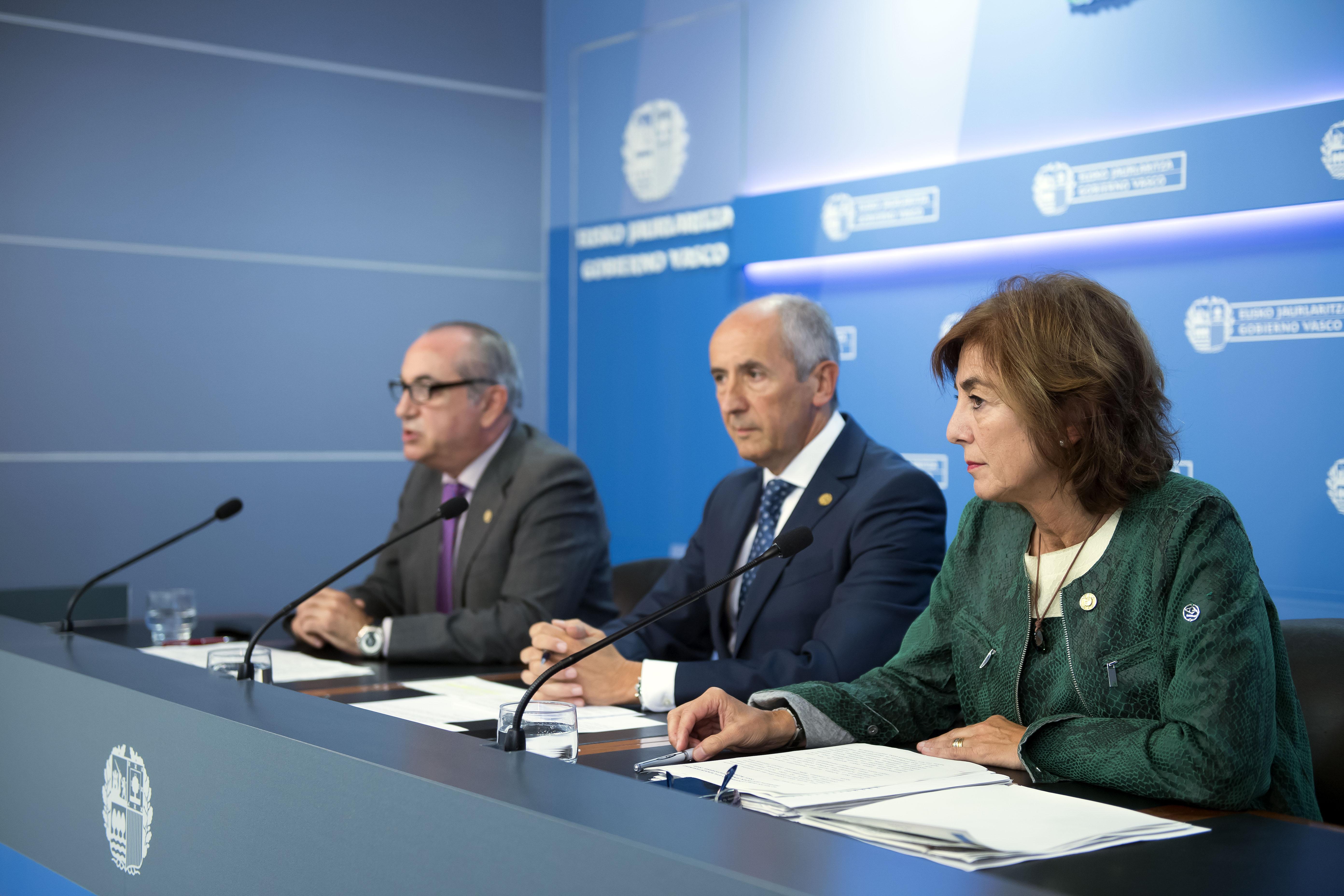 El Gobierno Vasco aprueba una subida salarial del 1% al conjunto del personal de la Administración Pública Vasca