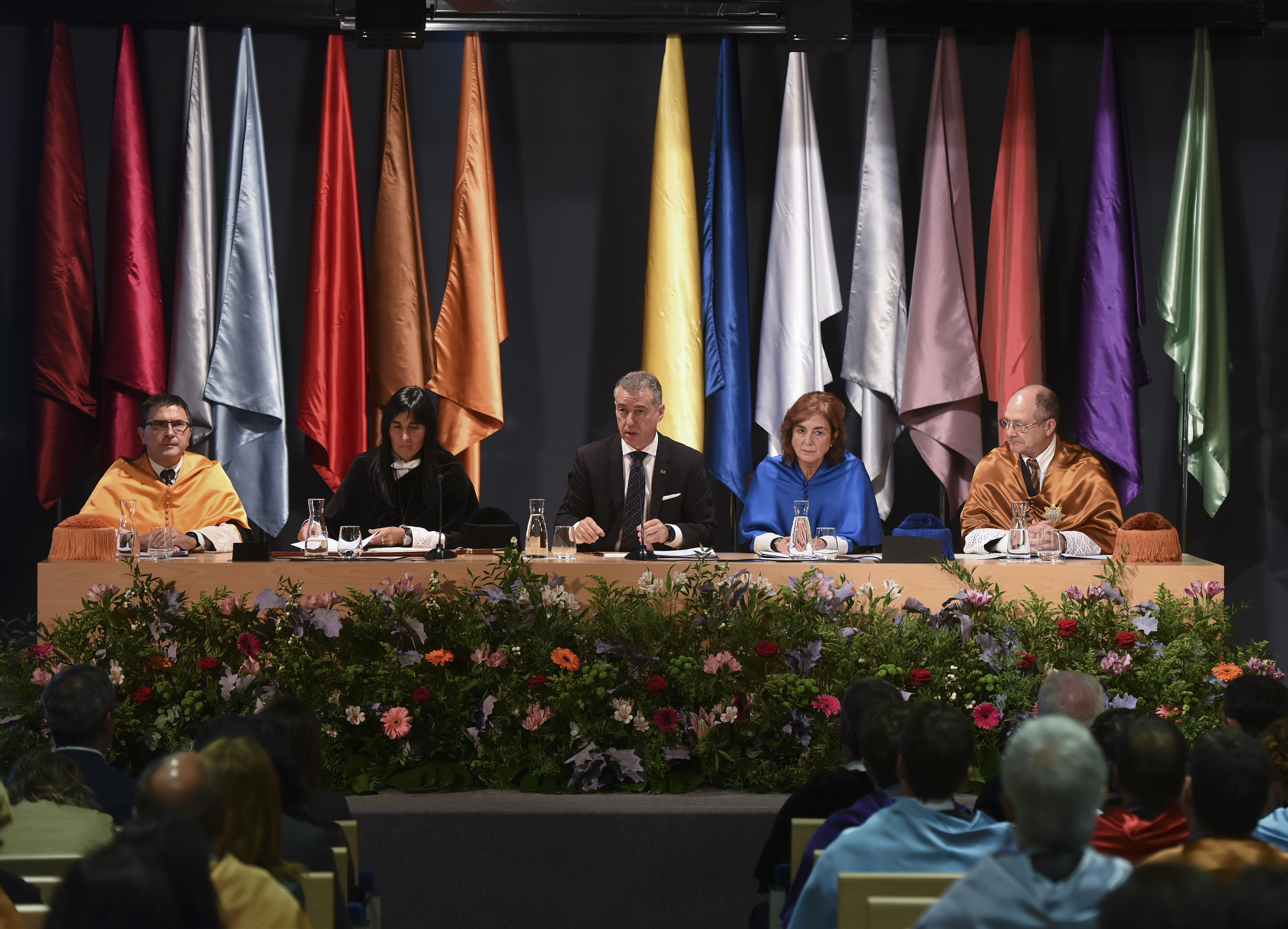 Lehendakariak UPV/EHUren 2017-2018 ikasturtea ireki du