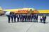 Lehendakariak azpimarratu du Forondako aireportuaren lehiakortasuna sendotzen duela aireportuan DHLren instalazioak handitzeak
