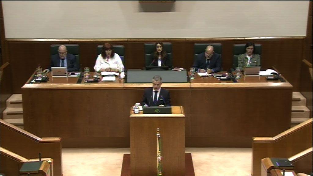 El Lehendakari ha defendido el crecimiento económico de Euskadi basado en un modelo de desarrollo humano sostenible