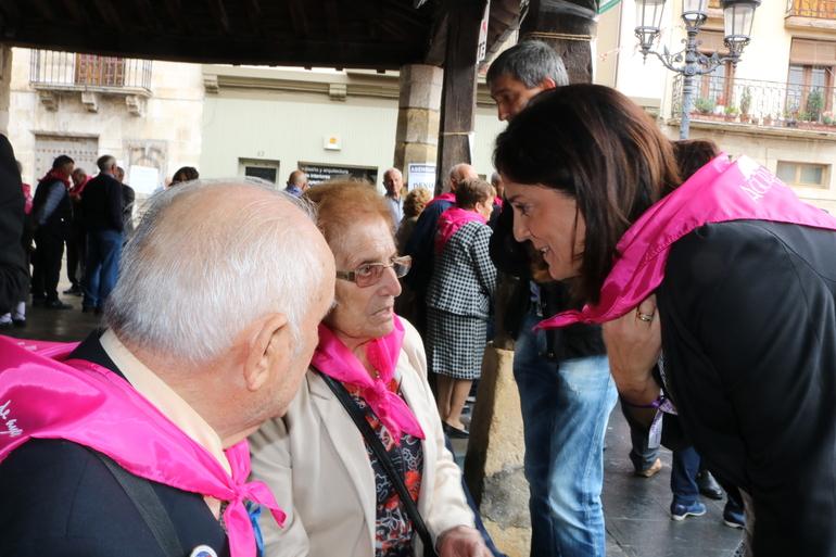Artolazabal, en el Día de las Personas Mayores de Agurain-Salvatierra