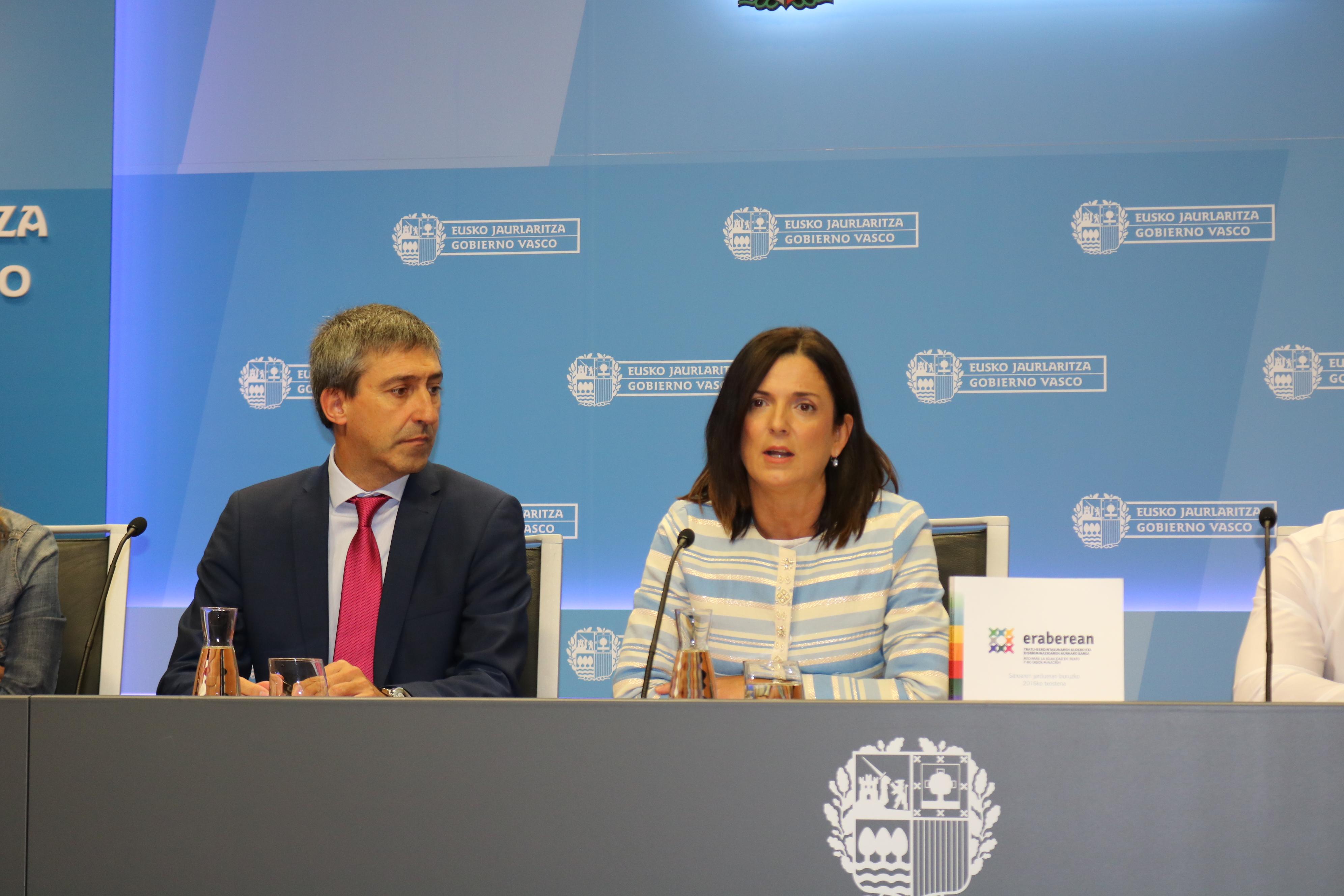 """Artolazabal: """"La Red Eraberean crece y se erige como referente en materia de no discriminación"""""""