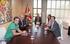 El Lehendakari recibe a responsables y organizadores de Nafarroa Oinez