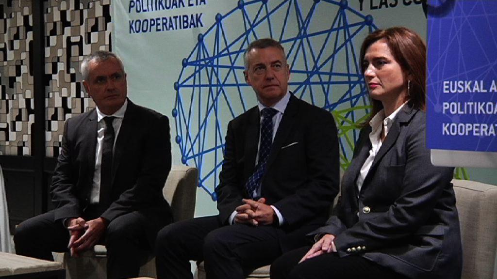 El Lehendakari clausura la jornada del Foro de Debate Cooperativo-Forokoop