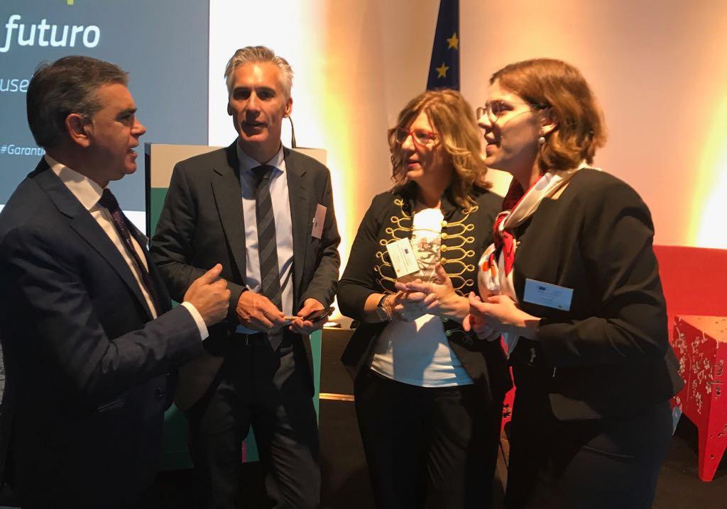 """Marcos Muro: """"con el apoyo del Fondo Social Europeo Euskadi aumentará en 7 millones de euros el Programa Operativo de Empleo Juvenil"""""""
