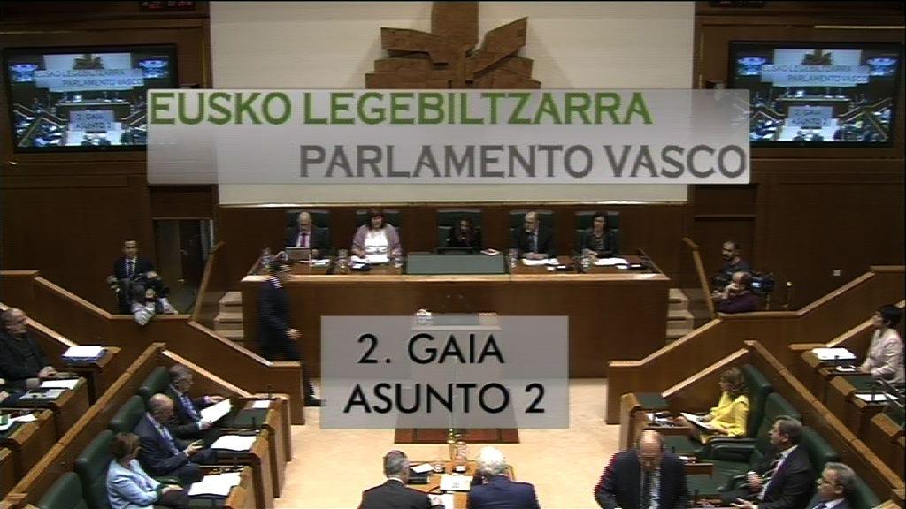 Pregunta formulada por D. Pello Urizar Karetxe, parlamentario del grupo EH Bildu, al lehendakari, relativa a la respuesta dada por el Gobierno de Madrid a las reivindicaciones democráticas de las naciones del Estado español.