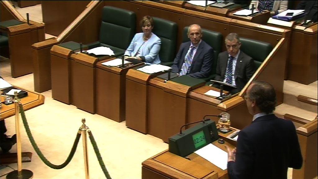 Pregunta formulada por D. Alfonso Alonso Aranegui, parlamentario del grupo Popular Vasco, al lehendakari, sobre retoques fiscales