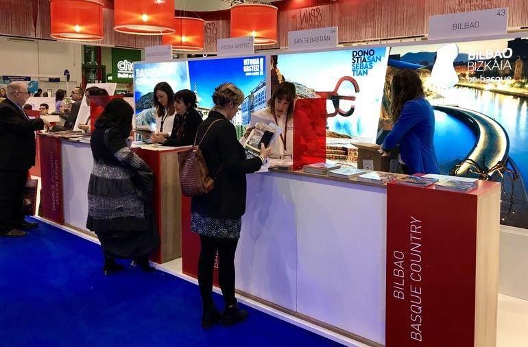 La World Travel Market se convierte en la tarjeta de presentación de Euskadi en Londres