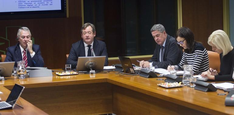 El Departamento de Cultura y Política Lingüística plantea un presupuesto de 250 millones para 2018, un 3% más que el año pasado