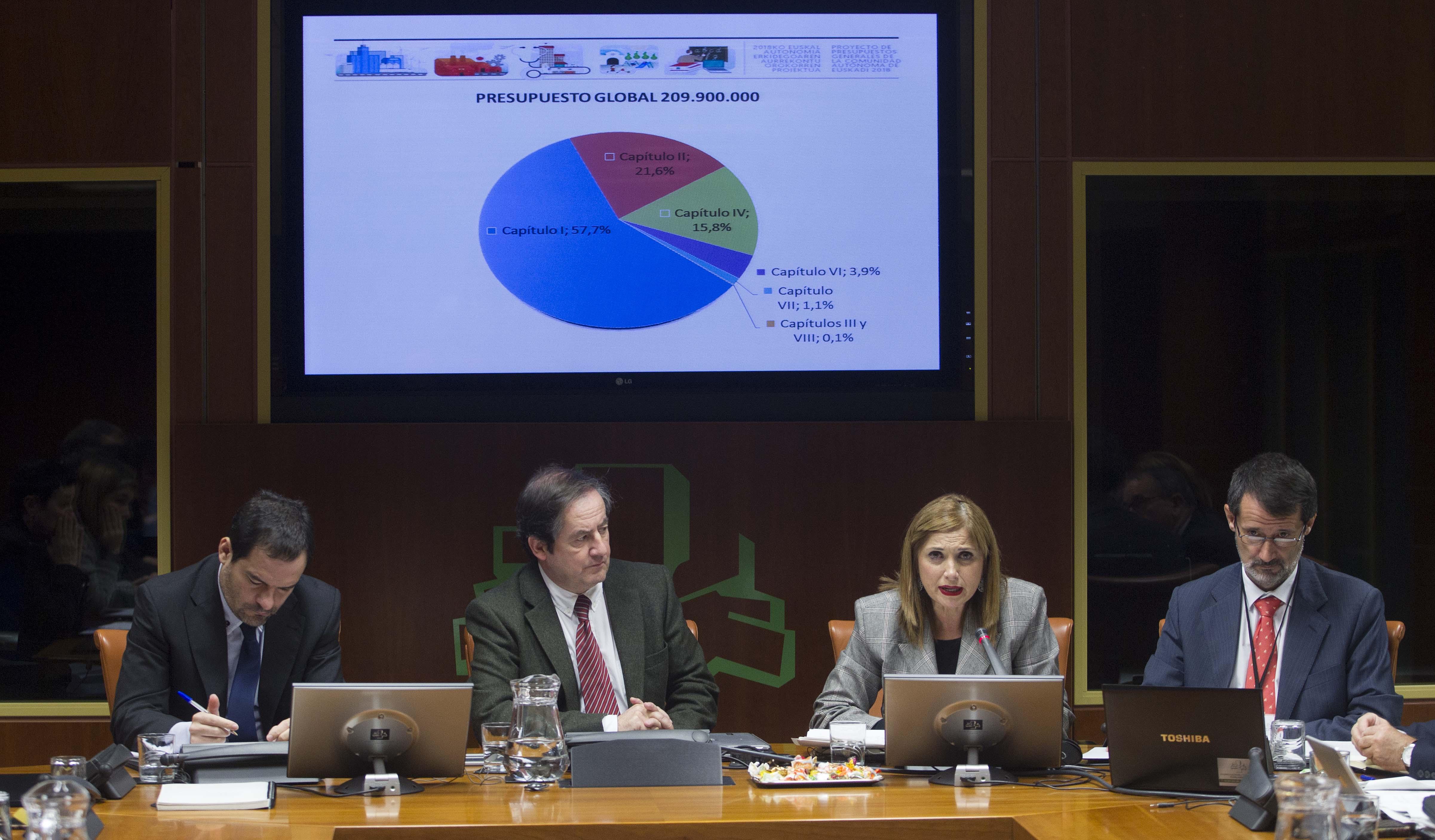 El Departamento de Trabajo y Justicia contará en 2018 con un presupuesto de 209,9M.