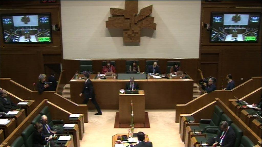 Galdera, Lander Martínez Hierro Elkarrekin Podemos taldeko legebiltzarkideak lehendakariari egina, krisian dauden industria-enpresetako langileekiko harremanari buruz