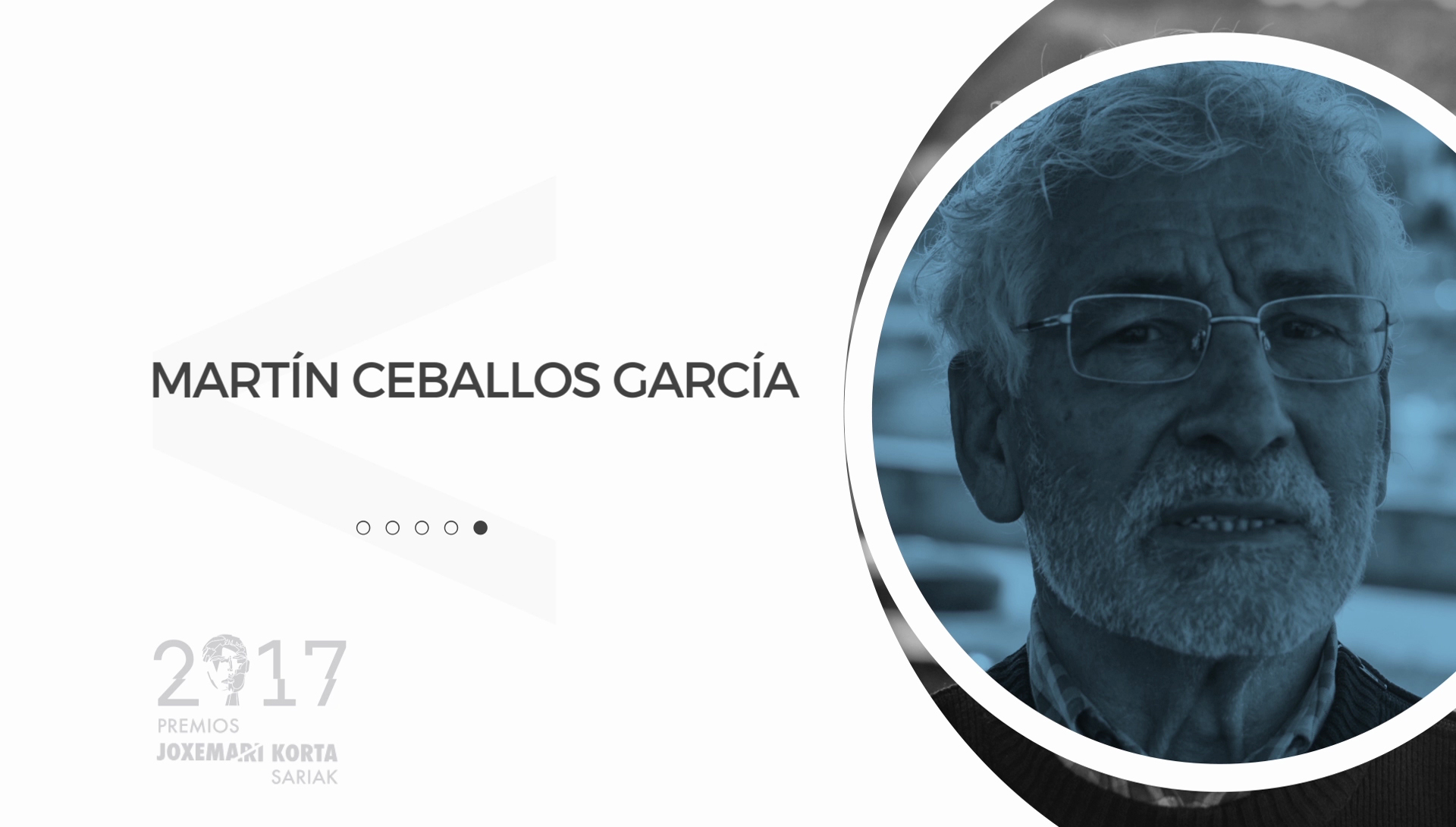Martín Ceballos (Talleres Marel). Premios Korta Sariak 2017
