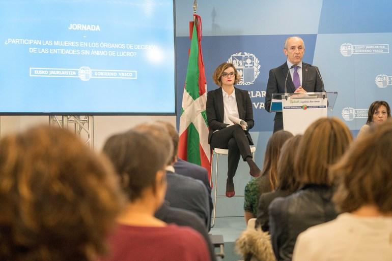 El Gobierno Vasco pone cifras, por primera vez, a la desigualdad en los órganos de dirección de las fundaciones y asociaciones de utilidad pública de Euskadi