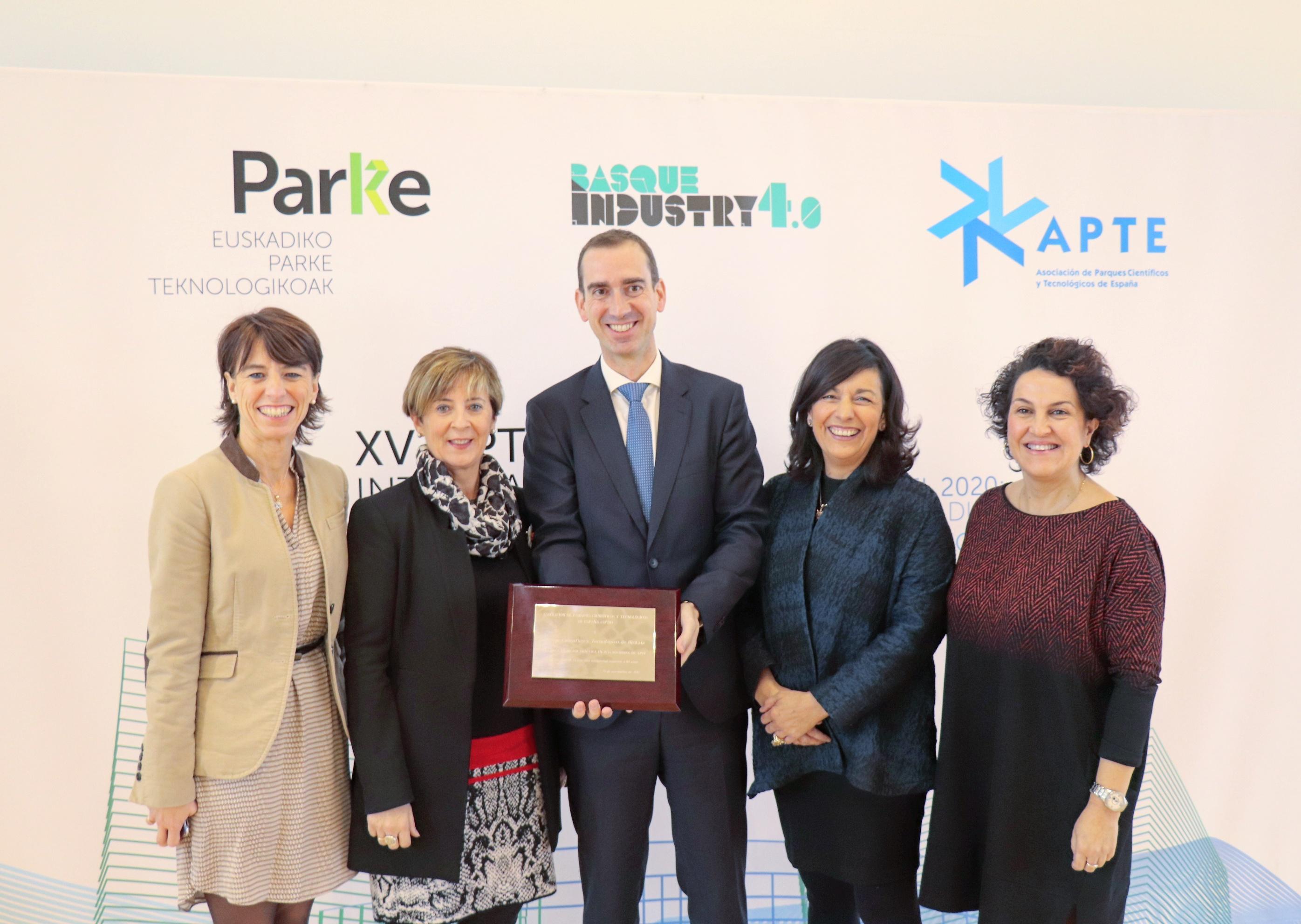 Euskadi acoge la XV Conferencia Internacional de Parques Científicos y Tecnológicos de todo el Estado, centrada en las oportunidades de futuro que ofrecen las tecnologías más revolucionarias