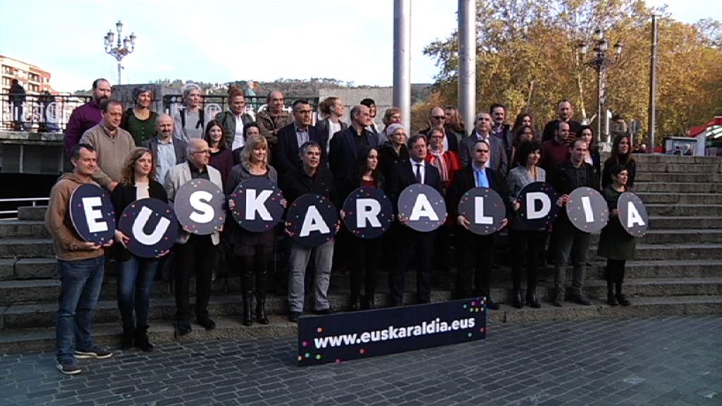 El Departamento de Cultura y Política Lingüística del Gobierno Vasco apoya en su presentación el proyecto Euskaraldia, dirigido a transformar los hábitos lingüísticos