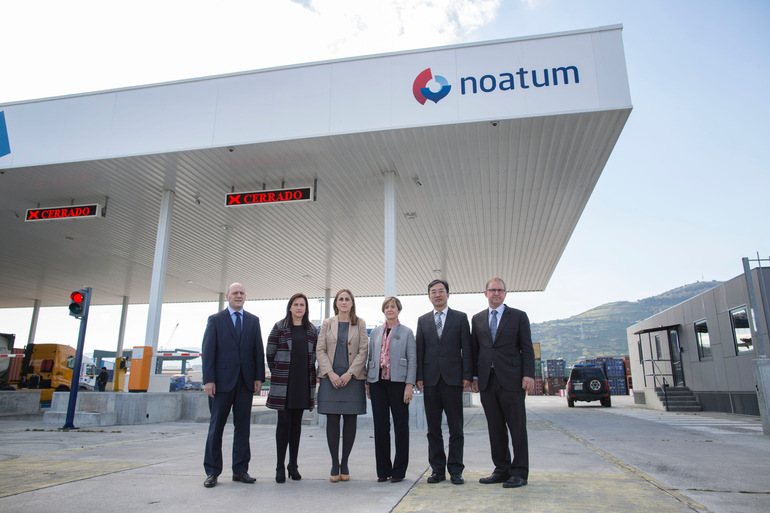 Tapia valora la inversión de Noatum que favorecerá las exportaciones vascas