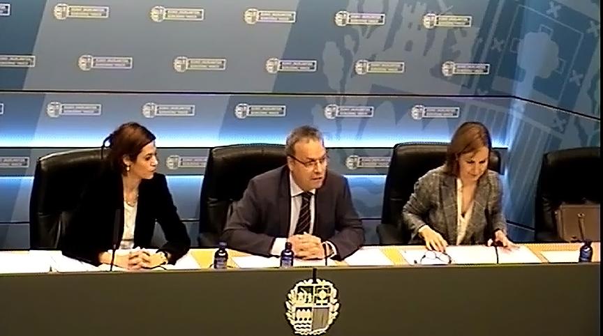 El Consejero Retortillo  ha presentado el decreto de viviendas y habitaciones para uso turístico