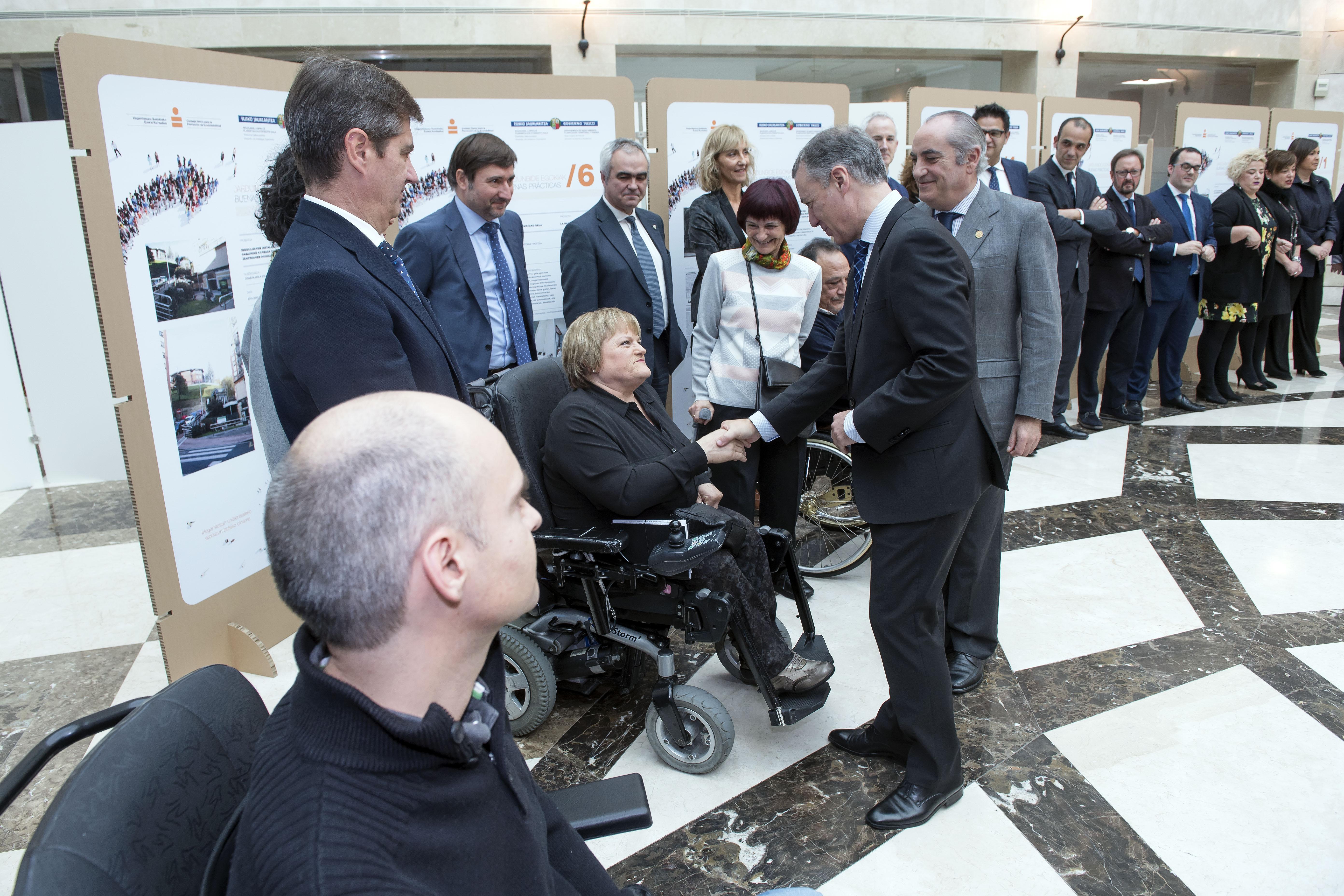Euskadik aurrez aurre du irisgarritasun unibertsala sustatzeko erronka, 1997ko Euskal Legeak 20 urte betetzean