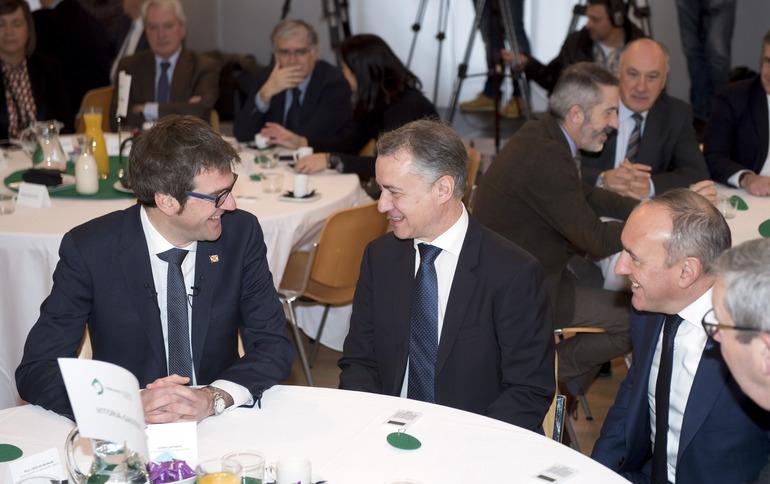 "El Lehendakari asiste a la presentación ""Vitoria-Gasteiz Estrategia 2025"""