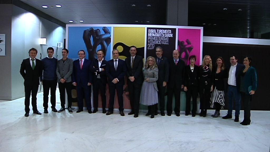 Lehendakariak 2017 Merkataritza eta Turismo Sariak banatuko ditu.