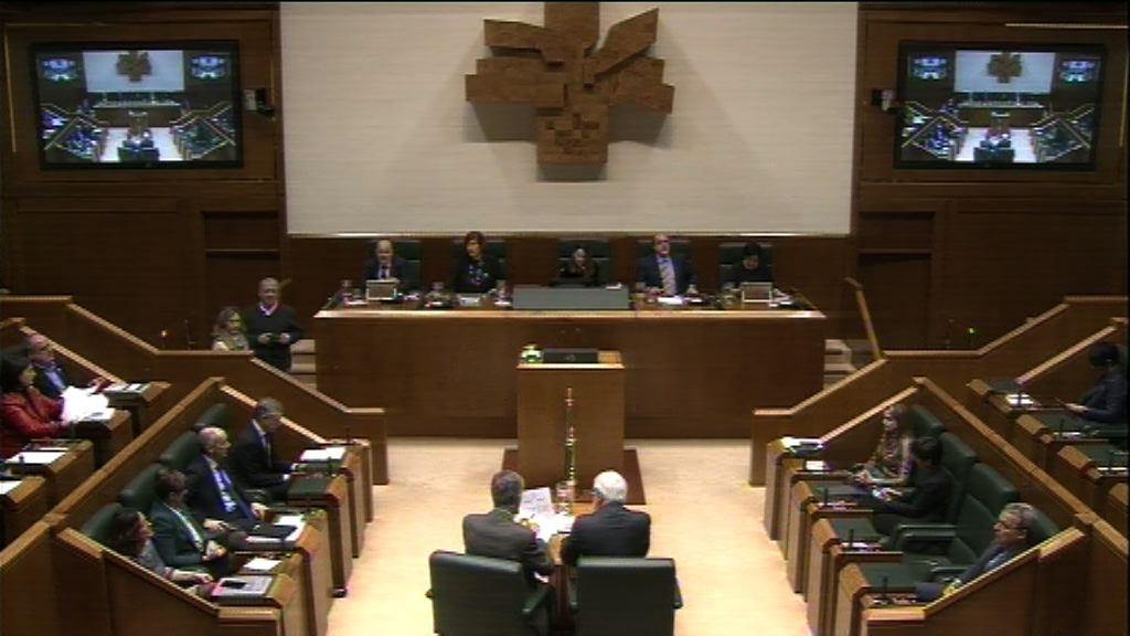 Aprobados los Presupuestos Generales de Euskadi 2018, de 11.486,4 millones de euros