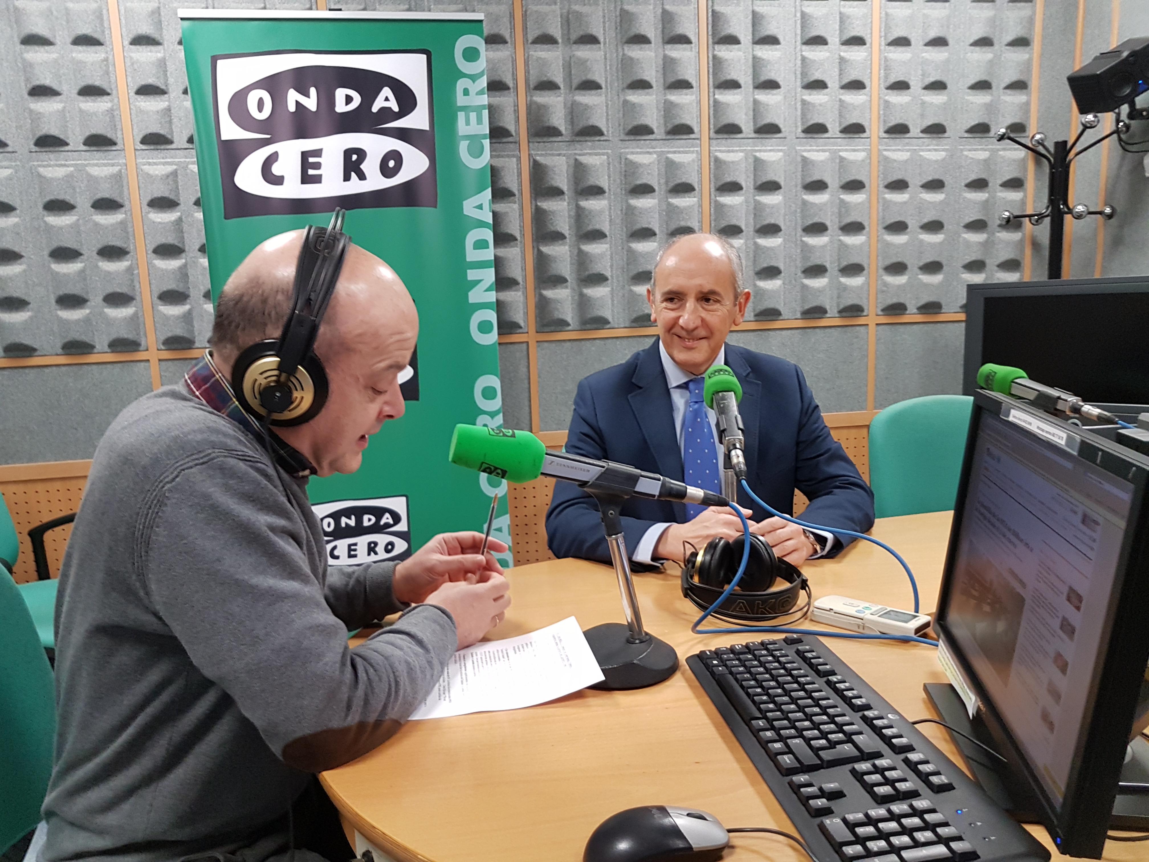 """Erkoreka: """"El empresariado vasco sitúa la tasa de paro por debajo del 8% el año que viene, si se confirma sería una excelente noticia"""""""