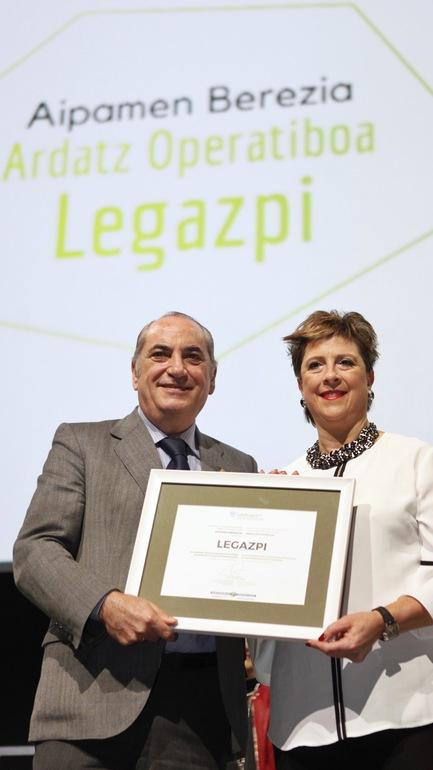 "Vitoria-Gasteiz obtiene el ""Premio Municipio Sostenible de Euskadi 2017"" de la red Udalsarea21"
