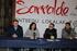 Jon Luqui, alcalde de Urretxu, muestra a la Sailburu Artolazabal los nuevos locales de Sarralde dedicados a ensayos musicales