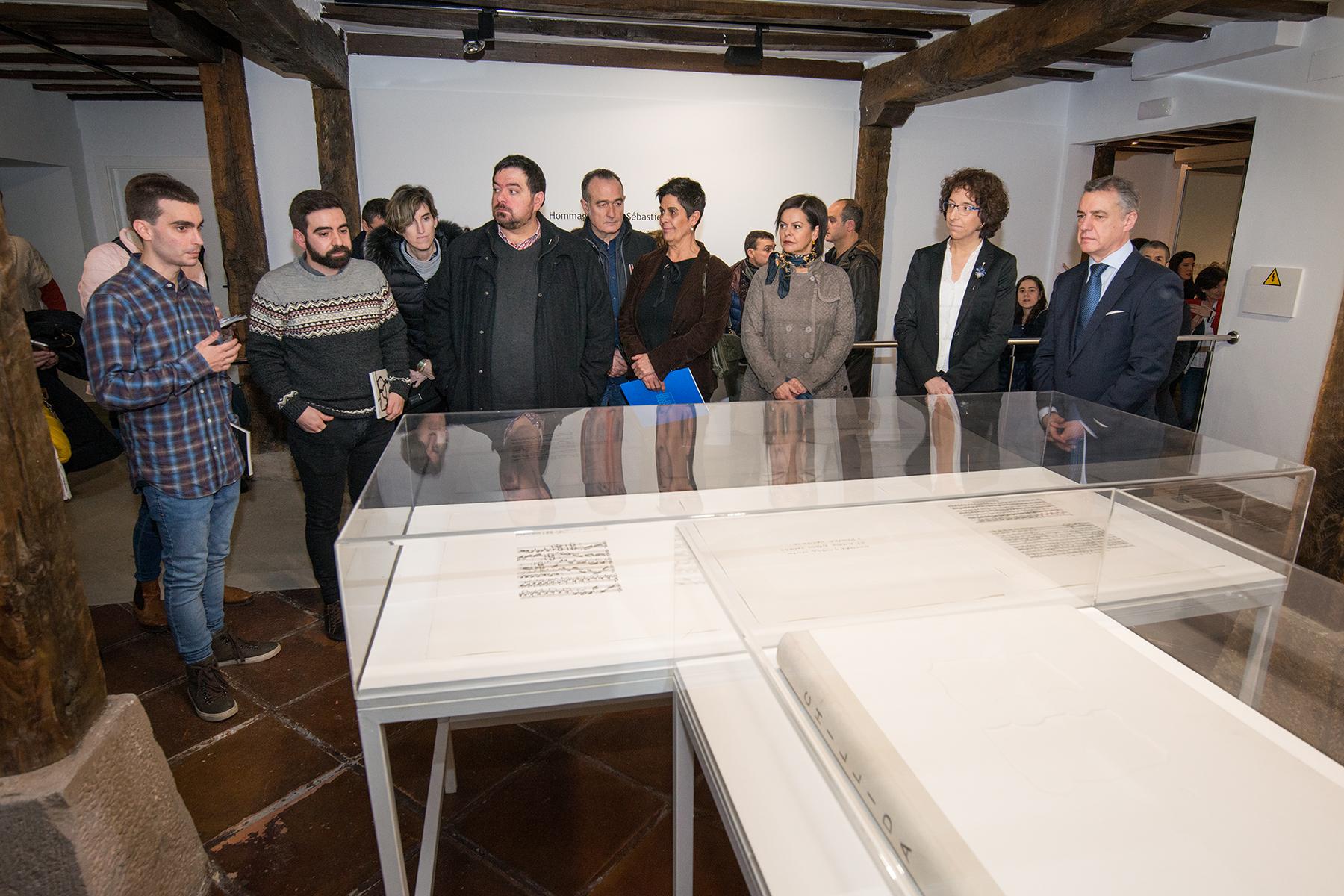 Lehendakaria Durangoko Arte eta Historia Museoaren eraberritzearen inaugurazioan izan da