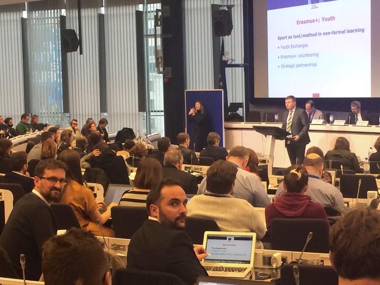 El Gobierno Vasco participa en el foro europeo del deporte, organizado por la Comisión Europea