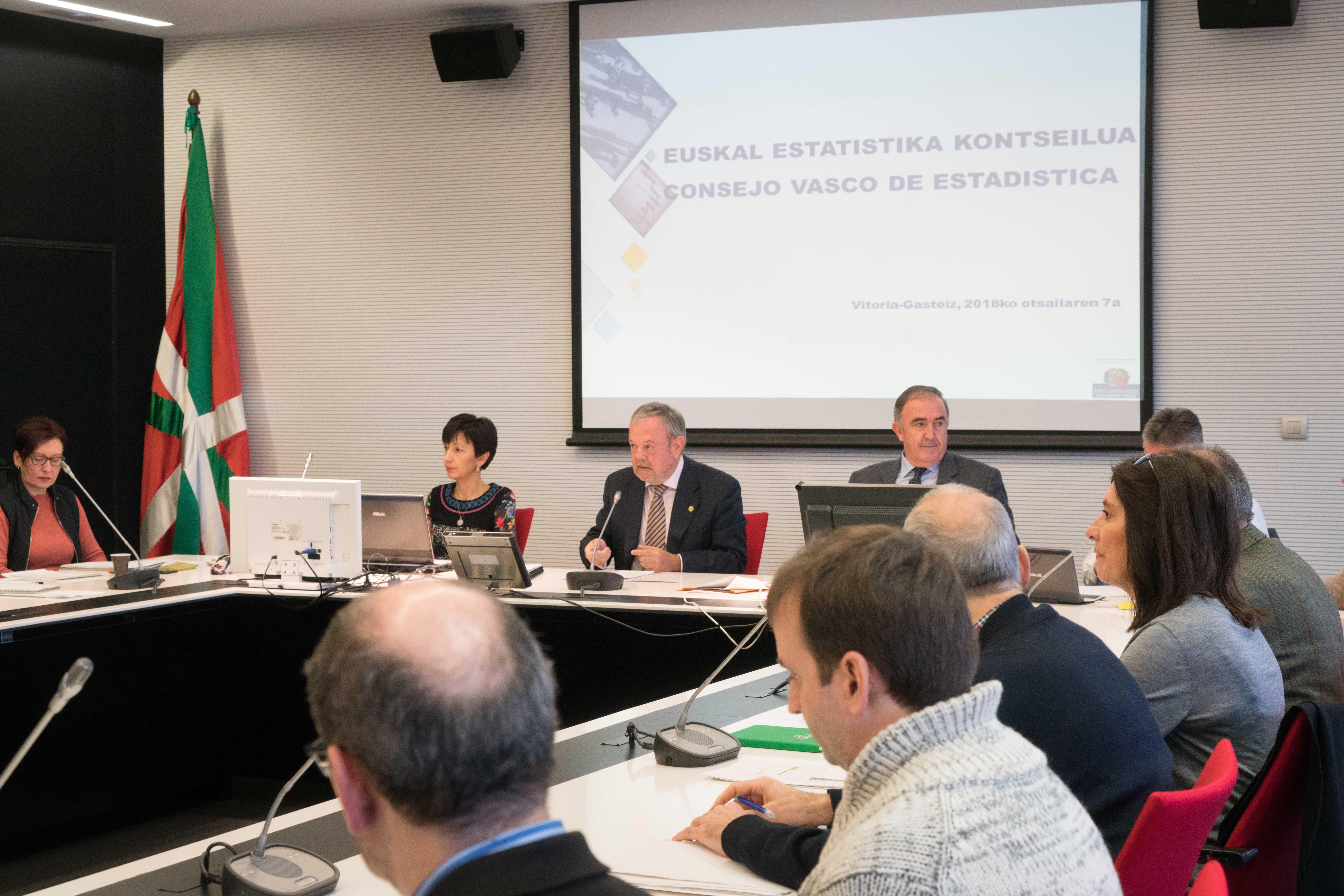 El Consejo Vasco de Estadística aprueba el anteproyecto de ley del Plan Vasco de Estadística 2018-2022