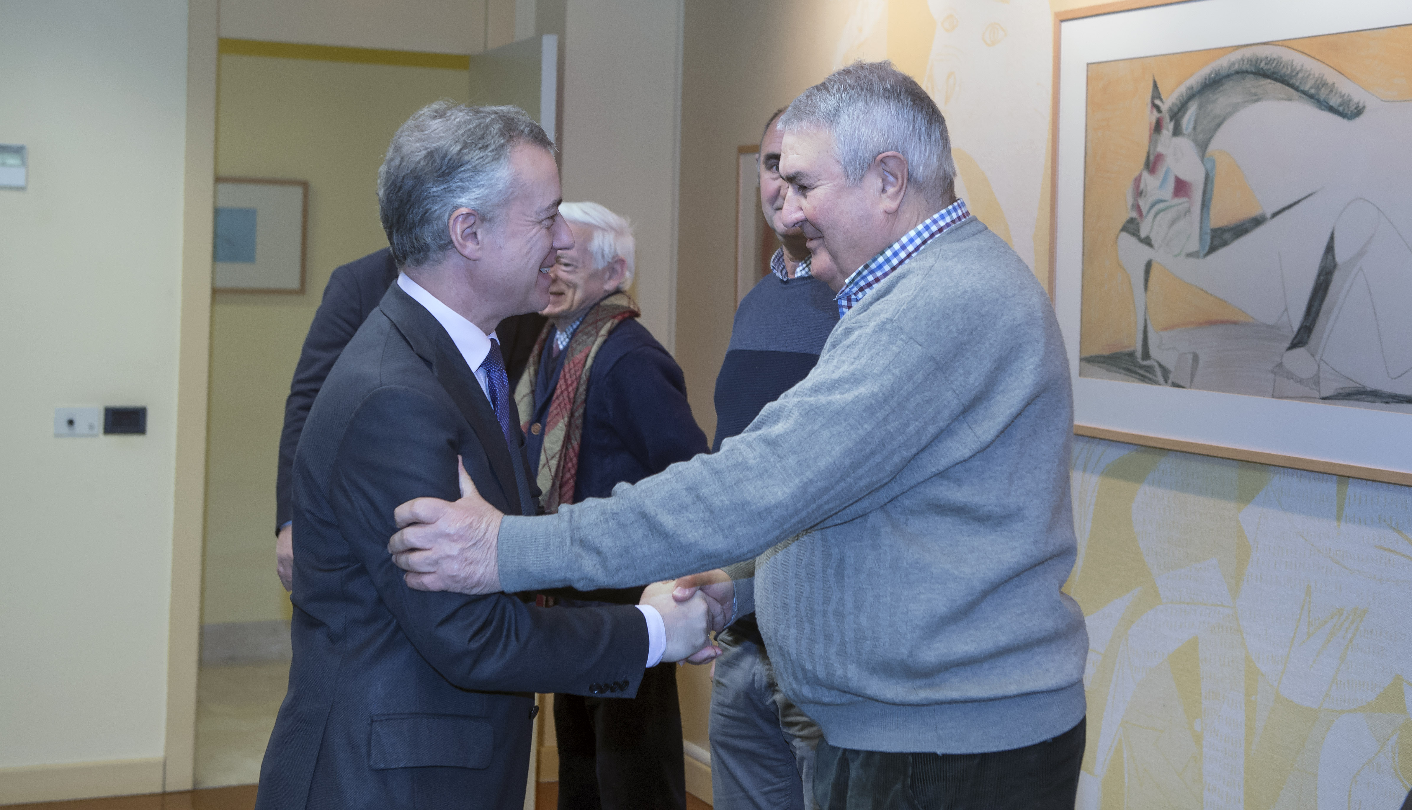 Lehendakariak Euskal Kirol Federazioen Batasuneko  arduradunak hartuko ditu