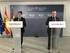 El Ministro Álvaro Nadal y el Consejero Alfredo Retortillo han firmado el convenio para la celebración del Consejo Ejecutivo de la OMT en Euskadi