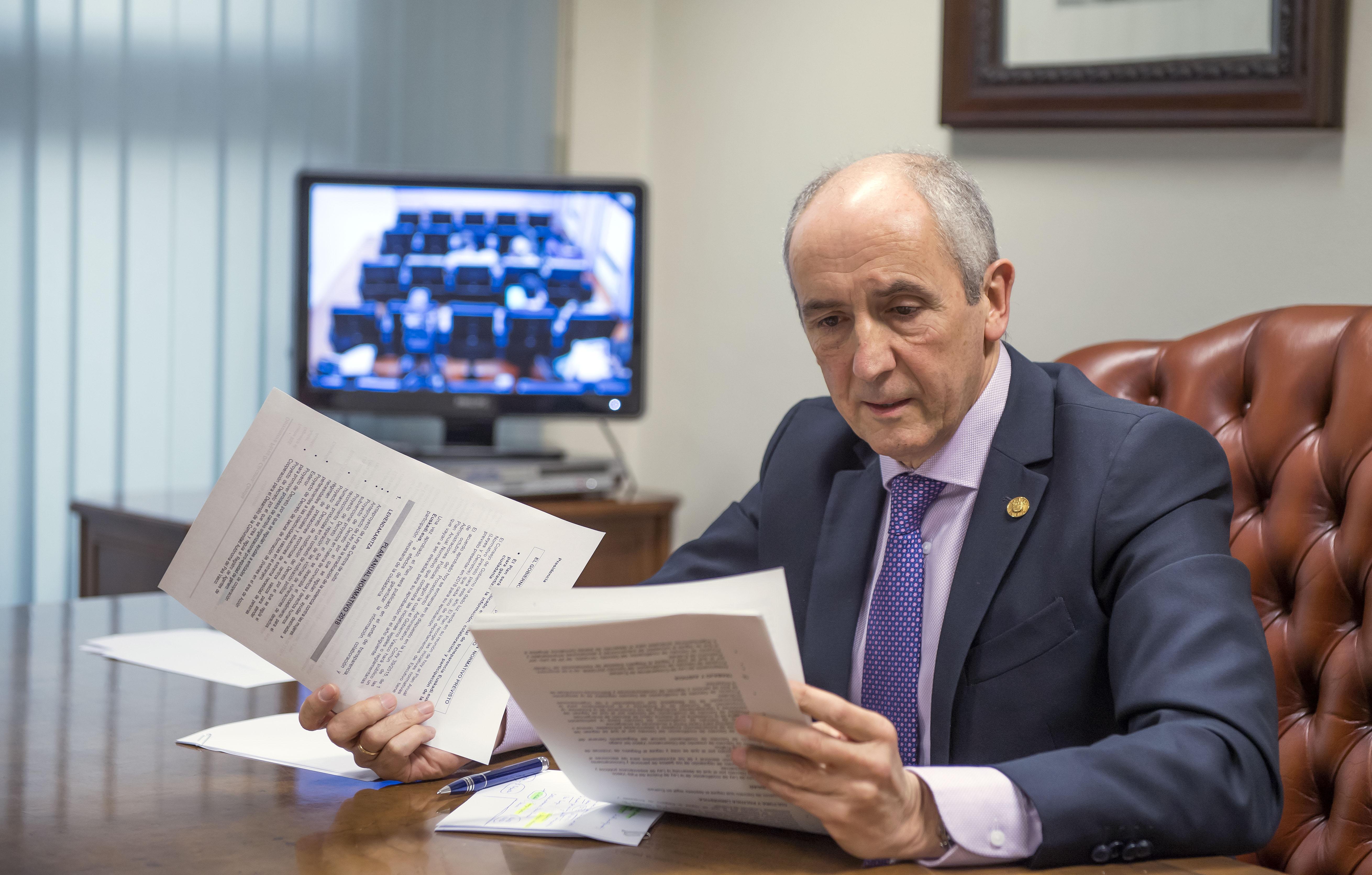 Eusko Jaurlaritzak aurtengo aurreikusita dagoen Urteko Araugintza Plana onartu du