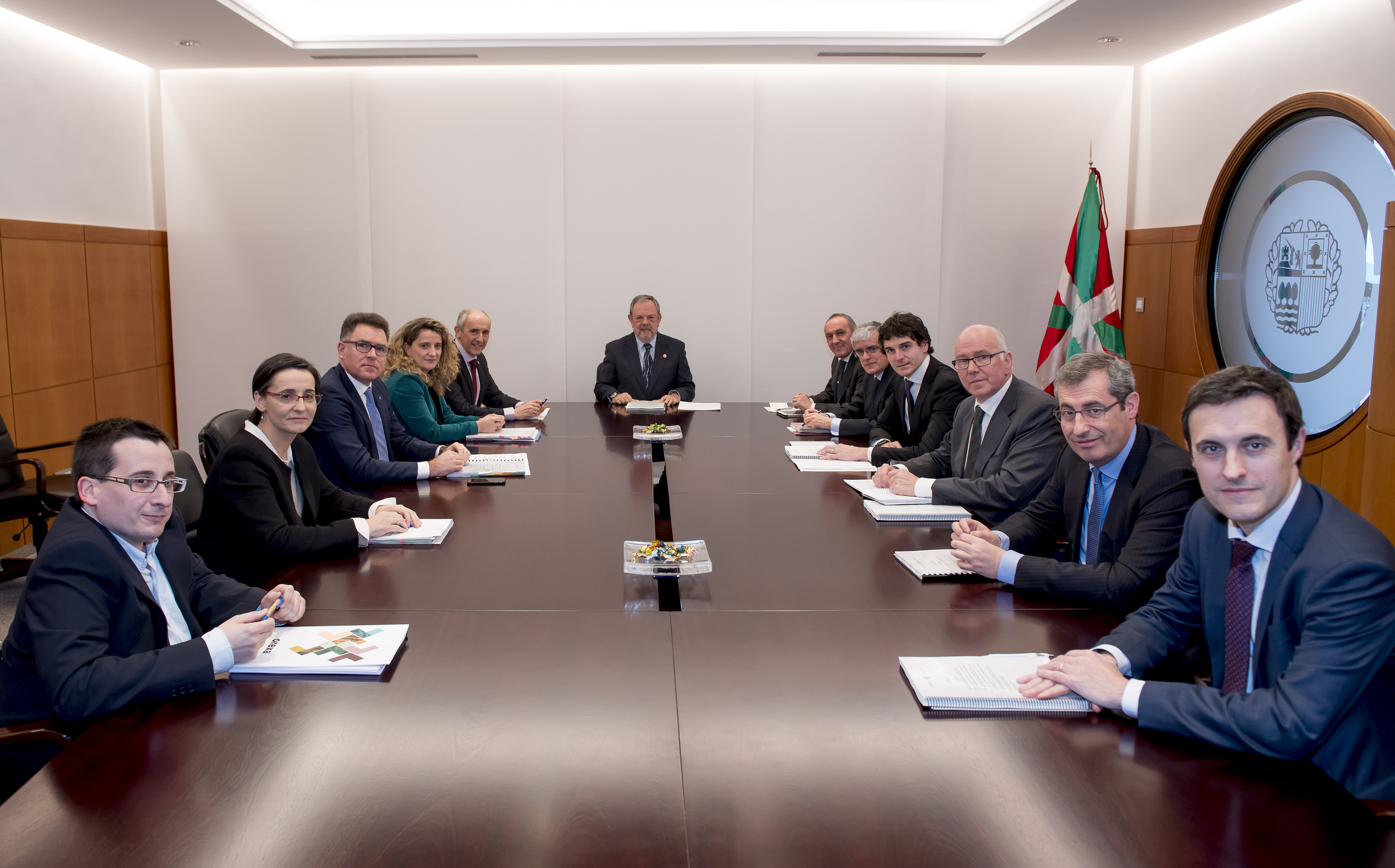 El consejero Azpiazu ha informado de los acuerdos adoptados en el Consejo Vasco de Finanzas Públicas
