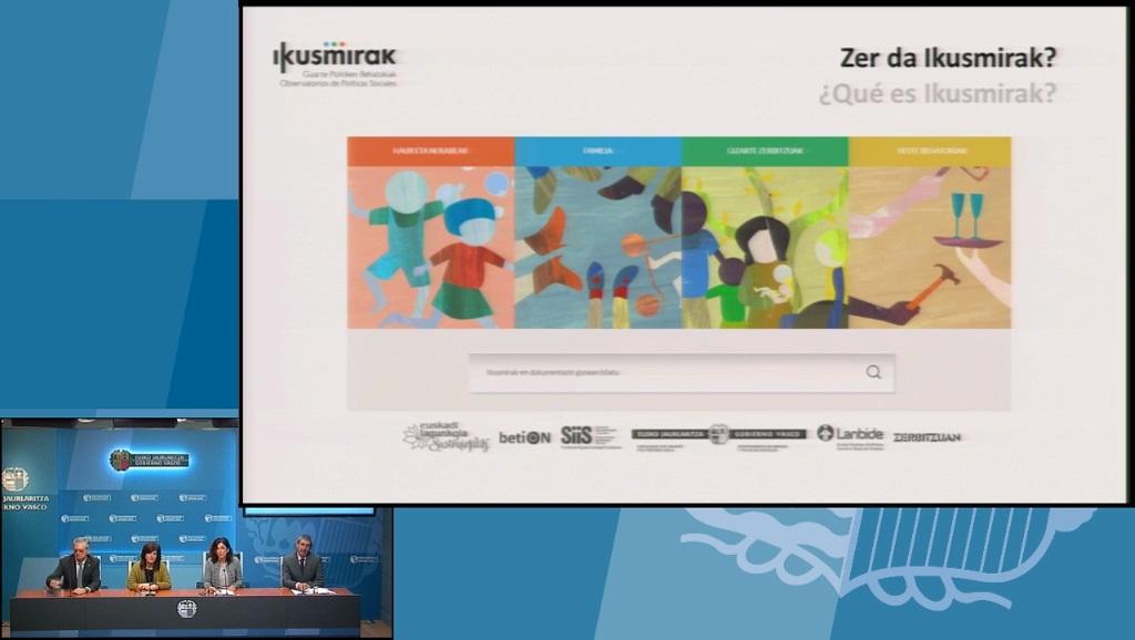 """Beatriz Artolazabal: """"La web ikusmirak.eus aglutina los portales de los Observatorios de Familia, Infancia, Adolescencia y Servicios Sociales"""""""