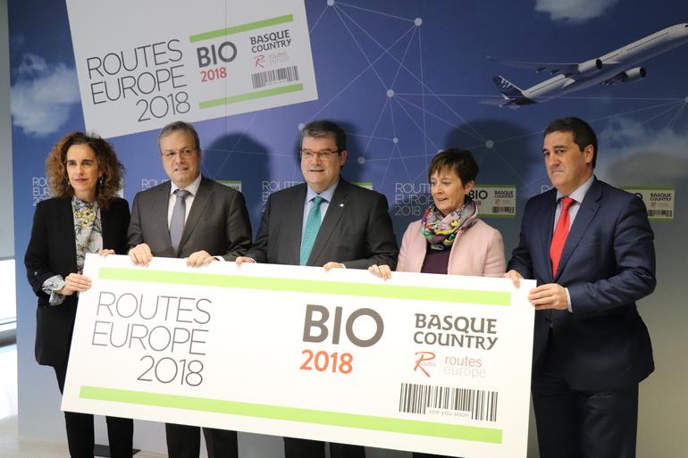 Routes Europe supondrá un impulso fundamental a la conectividad aérea de Euskadi y a su proyección internacional