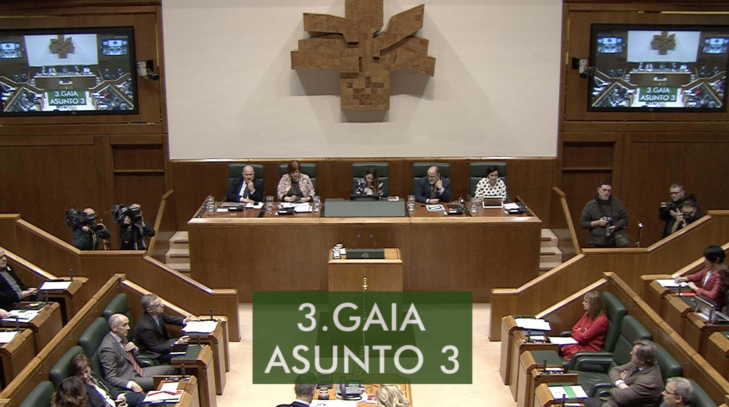 Galdera, Lander Martínez Hierro Elkarrekin Podemos taldeko legebiltzarkideak lehendakariari egina, Euskadiko mobilizazio-zikloari buruz